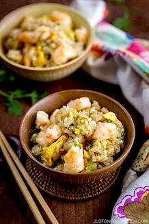 shrimp fried rice recipe | Just One Cookbook