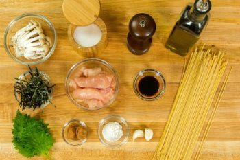 Ume Shiso Pasta Ingredients