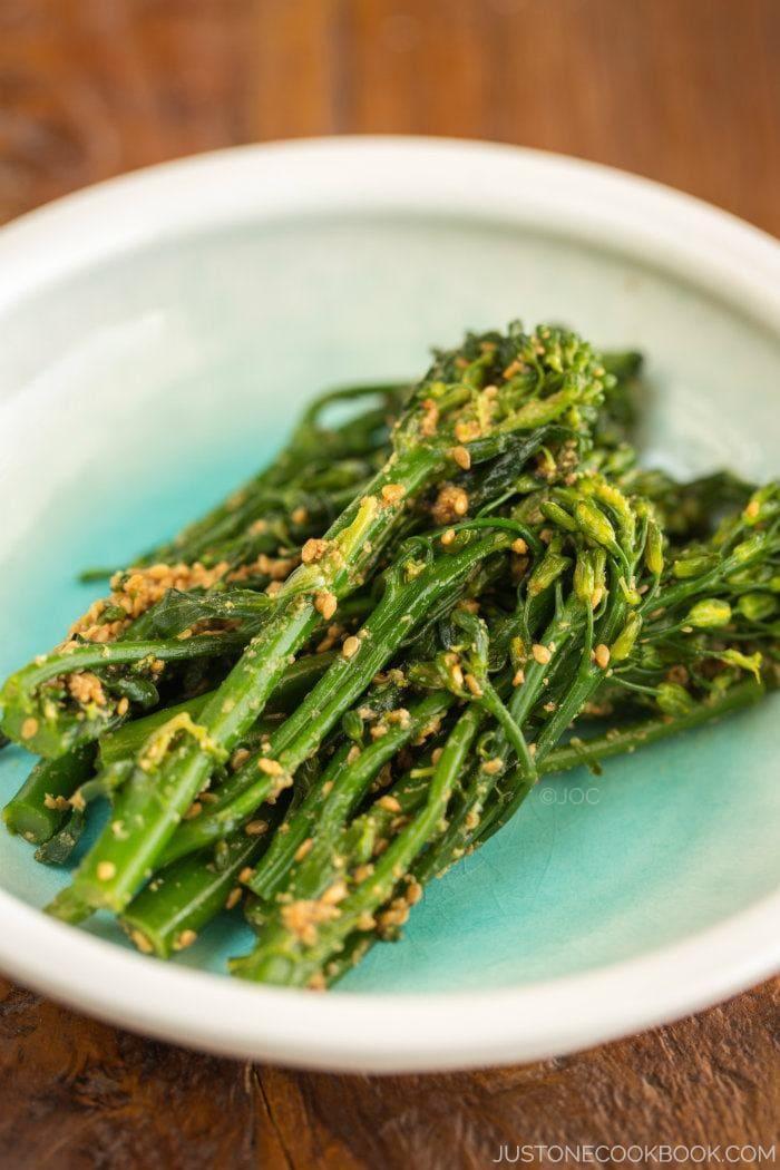 Broccolini Gomaae | Easy Japanese Recipes at JustOneCookbook.com