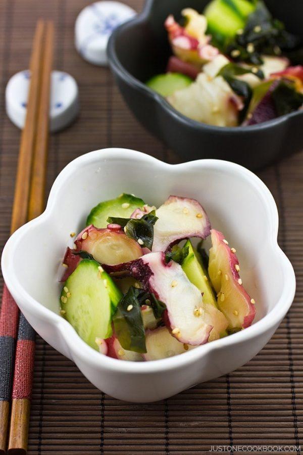 Octopus Salad (Takosu)   Easy Japanese Recipes at JustOneCookbook.com