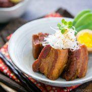 Braised Pork Belly (Kakuni) #recipe   Easy Japanese Recipes at JustOneCookbook.com