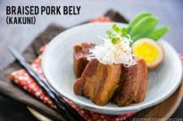 Braised Pork Belly (Kakuni) 角煮