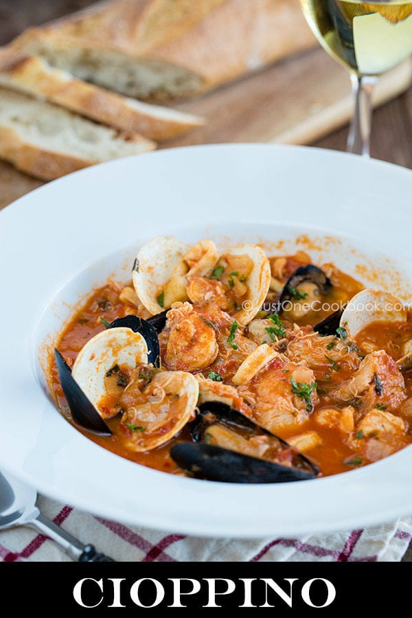 While I was researching for cioppino recipe, I found this video of ...
