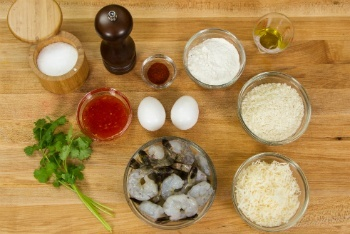 Coconut Shrimp Ingredients