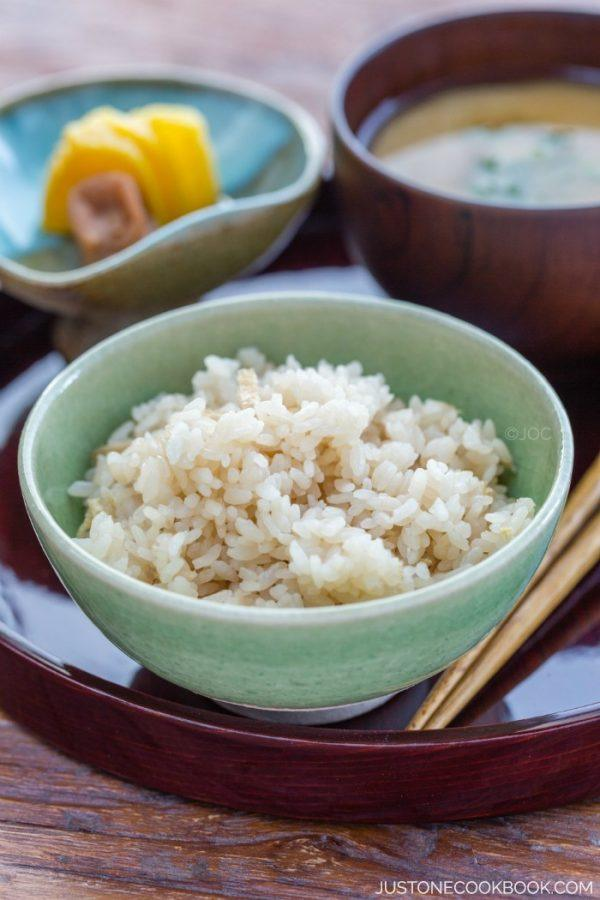 Perfect sushi rice in rice cooker