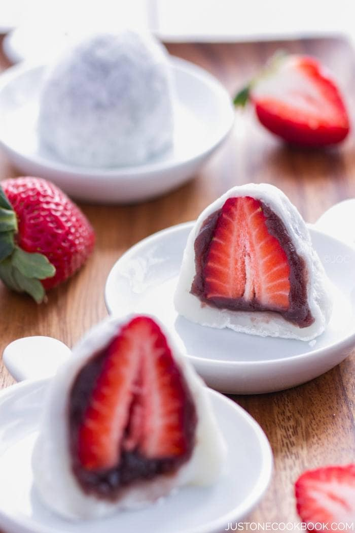 Strawberry Daifuku Cake Recipe