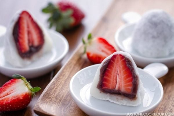 Strawberry Daifuku (Strawberry Mochi) | Easy Japanese Recipes at ...