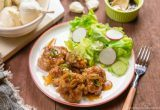 Teriyaki Pork Ball #recipe | Easy Japanese Recipes at JustOneCookbook.com