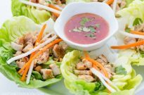 Thai Chicken Lettuce Wrap