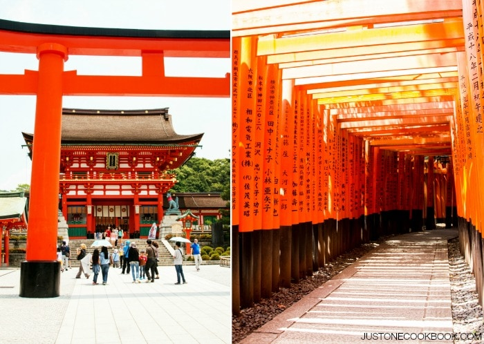 Visiting Kyoto - Fushimi Inari #Japan #kyoto #guide #travel | Easy Japanese Recipes at JustOneCookbook.com