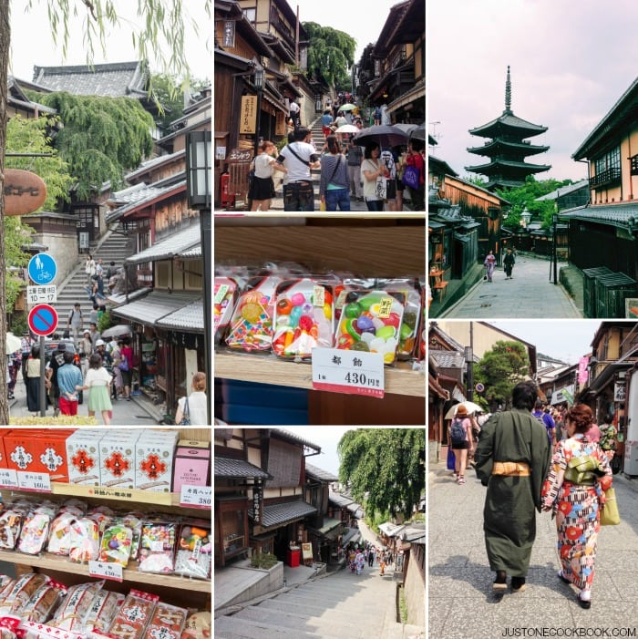 Visiting Kyoto - Kiyomizu Dera #Japan #kyoto #guide #travel | Easy Japanese Recipes at JustOneCookbook.com
