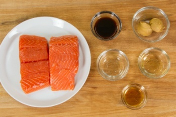 Miso Salmon Ingredients