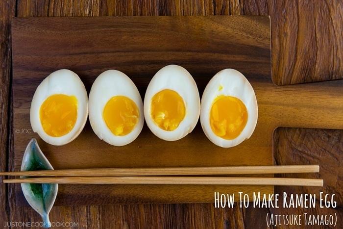 Japanese Marinated Soft Boiled Egg For Ramen (Ajitsuke Tamago) Recipes ...