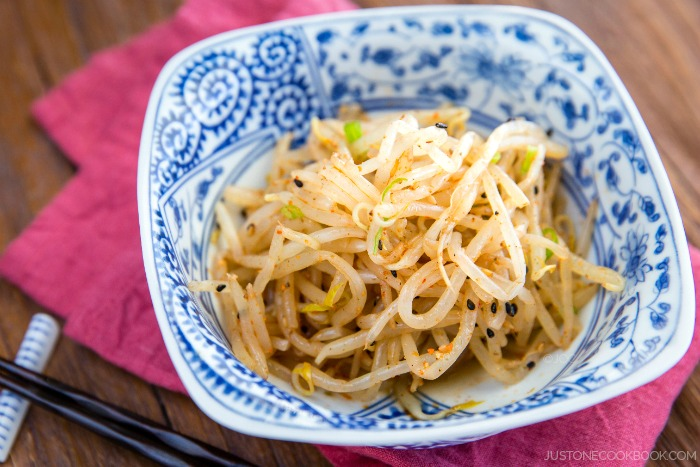 Spicy Bean Sprout Salad | Easy Japanese Recipes at JustOneCookbook.com