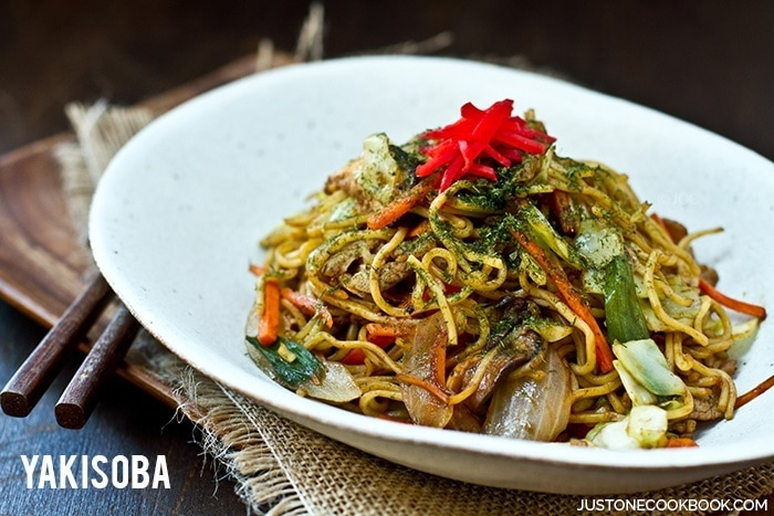 Yakisoba (Japanese Fried Noodles) | Easy Japanese Recipes at JustOneCookbook.com