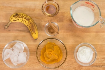 Pumpkin Smoothie Ingredients