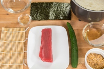 Sushi Roll Ingredients