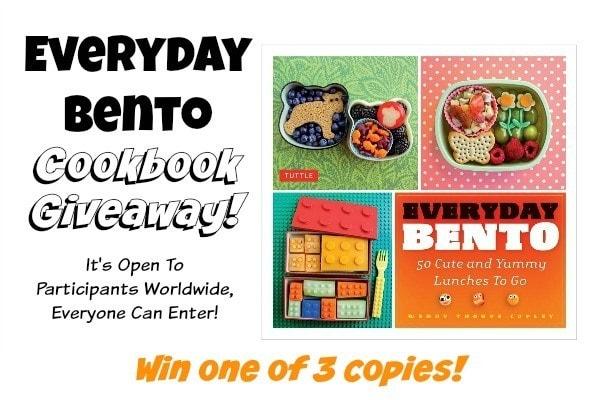 Everyday Bento Giveaway at JustOneCookbook.com