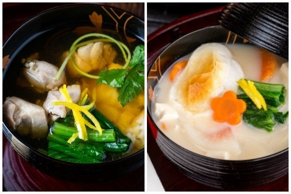 Ozoni - Kanto Style vs. Kansai Style | Easy Japanese Recipes at JustOneCookbook.com