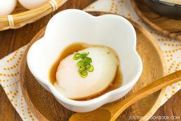 Onsen Tamago (Hot Spring Eggs) | Easy Japanese Recipes at JustOneCookbook.com