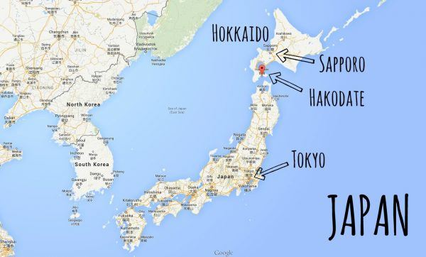 Google Map Japan