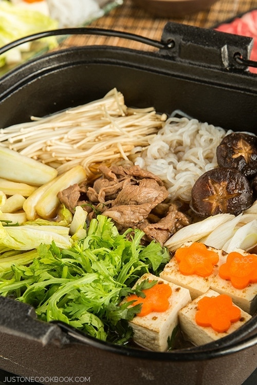 Sukiyaki (Japanese Hot Pot) | Easy Japanese Recipes at JustOneCookbook ...