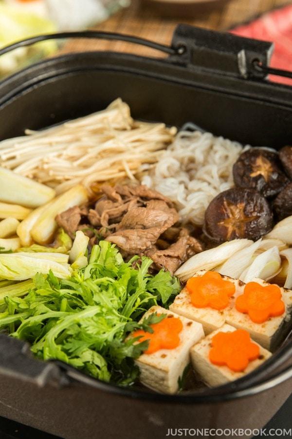 Sukiyaki Recipe すき焼き Just One Cookbook