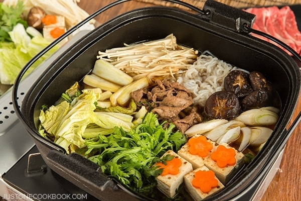 Sukiyaki Recipe すき焼き • Just One Cookbook