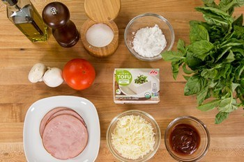 Tofu Pizza Ingredients