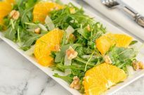 Arugula Salad with Fennel and Navel Orange