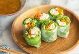Chicken Spring Rolls | Easy Japanese Recipes at JustOneCookbook.com