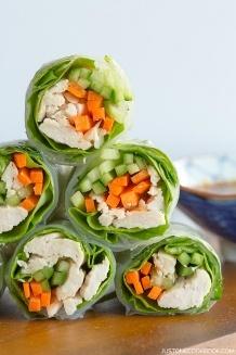 Chicken Spring Rolls | Easy Japanese Recipes at JustOneCookbook.com