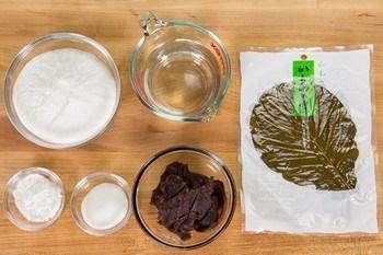 Kashiwa Mochi Ingredients