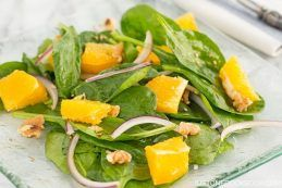 Spinach Salad with Asian Salad Dressing | Easy Japanese Recipes at JustOneCookbook.com