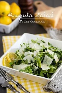 Arugula Salad | JustOneCookbook.com