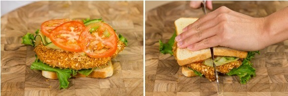 Crispy Chicken Sandwich 14