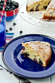 Blueberry Cake | JustOneCookbook.com