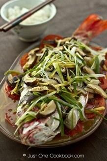 Cantonese Steamed Fish | JustOneCookbook.com
