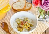Chicken & Corn Chowder with Roasted Potato | JustOneCookbook.com