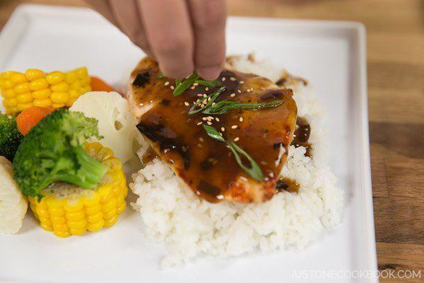 Grilled Chicken with Teriyaki Sauce 7
