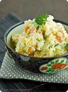 Japanese Potato Salad   JustOneCookbook.com