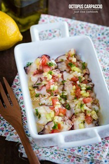 Octopus Carpaccio | JustOneCookbook.com