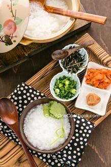 Rice Porridge| JustOneCookbook.com