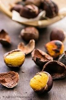 Roasted Chestnuts| JustOneCookbook.com