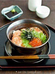 Salmon Ikura Don | JustOneCookbook.com