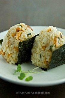 Salmon Onigiri | JustOneCookbook.com