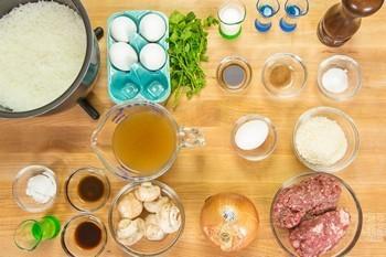 Loco Moco Ingredients