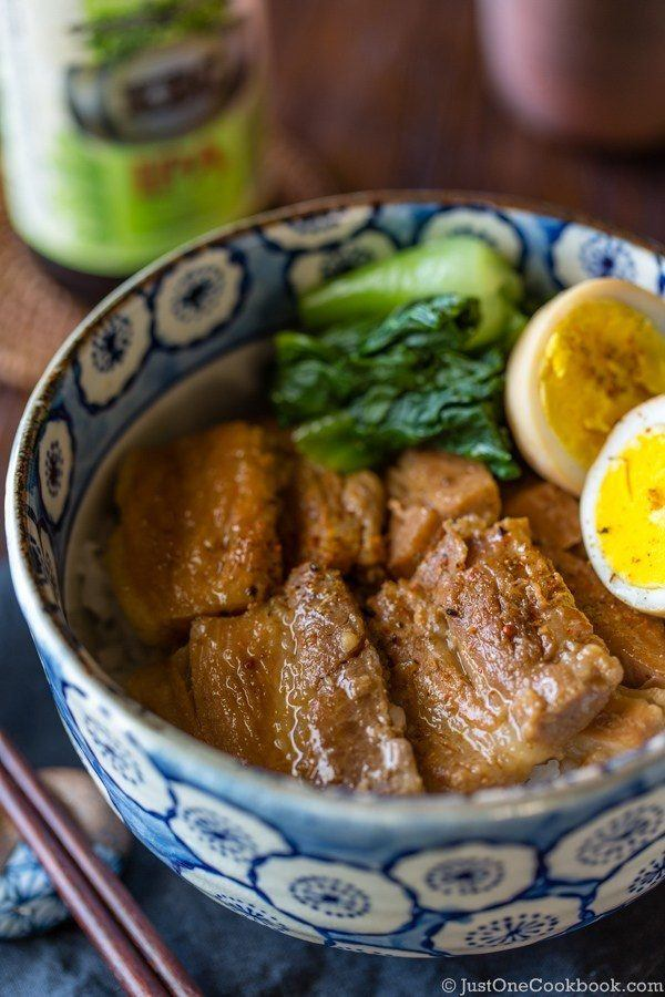 Pressure Cooker Pork Belly (Kakuni)