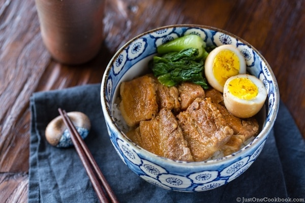 Pressure Cooker Pork Belly (Kakuni) | Easy Japanese Recipes at JustOneCookbook.com