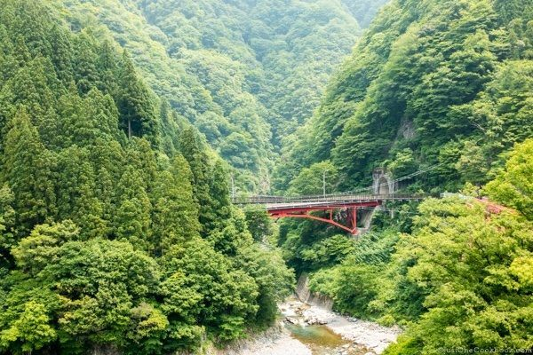 Shin-Yamabiko Bridge Kurobe Gorge